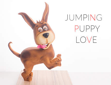 Jumping Puppy Love
