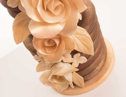 ganached wedding cake tutorial