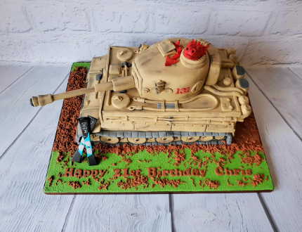 army cake - cake of the month competition