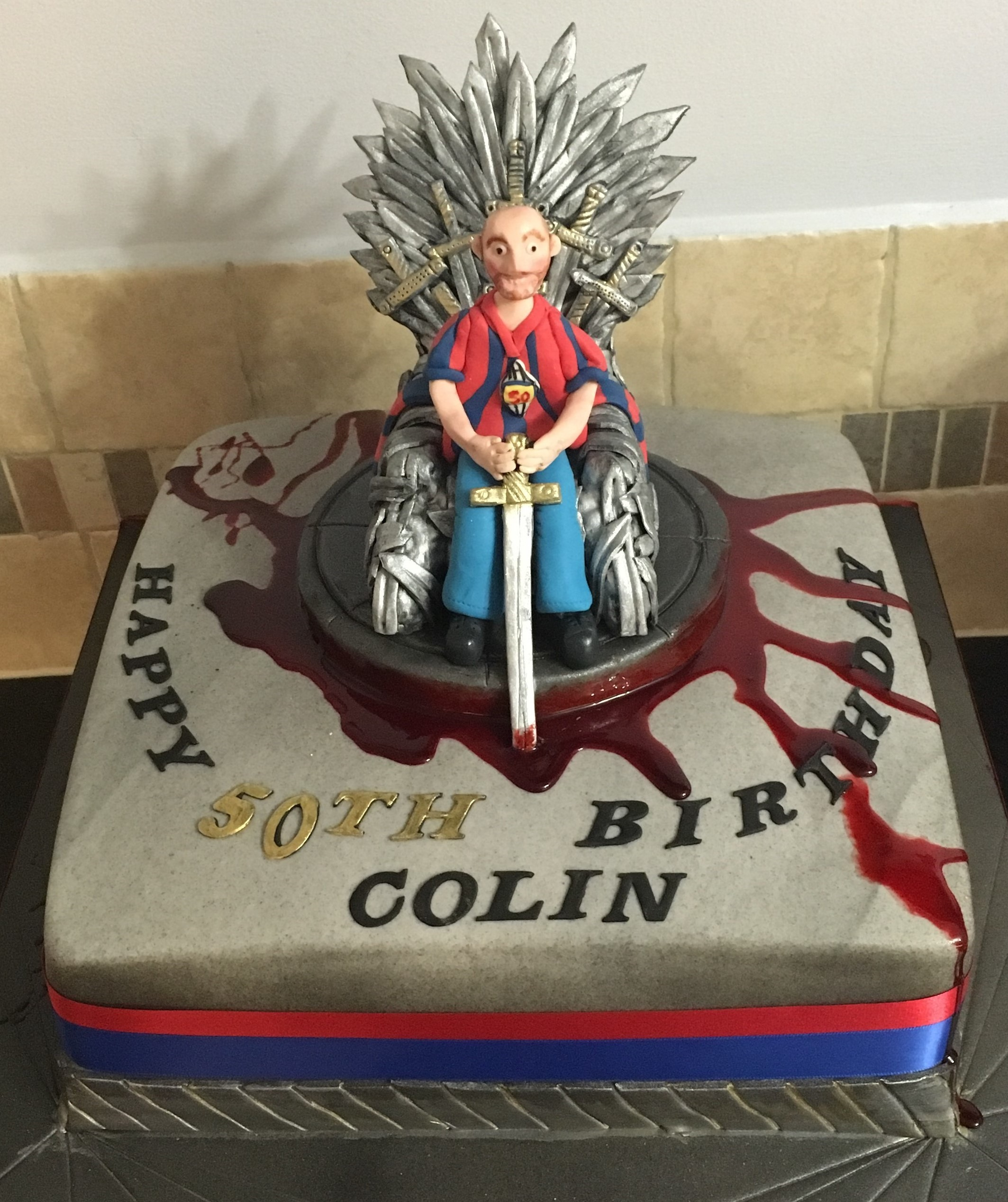 Marvelous Game Of Thrones Cakes Cakeflix Personalised Birthday Cards Cominlily Jamesorg