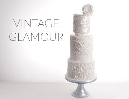 Vintage Glamour Cake