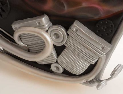 3D chopper motorbike cake tutorial - CakeFlix