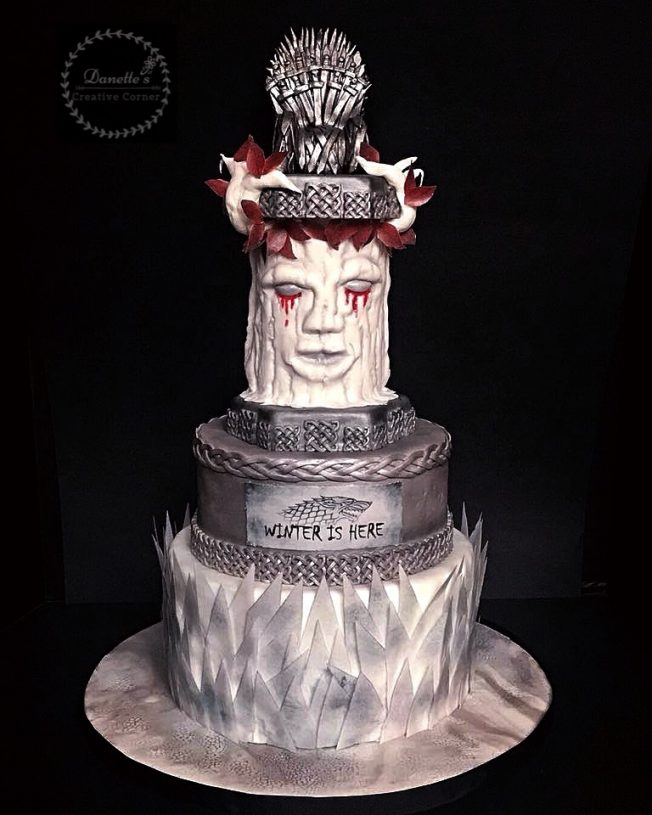 game of thrones blood cake