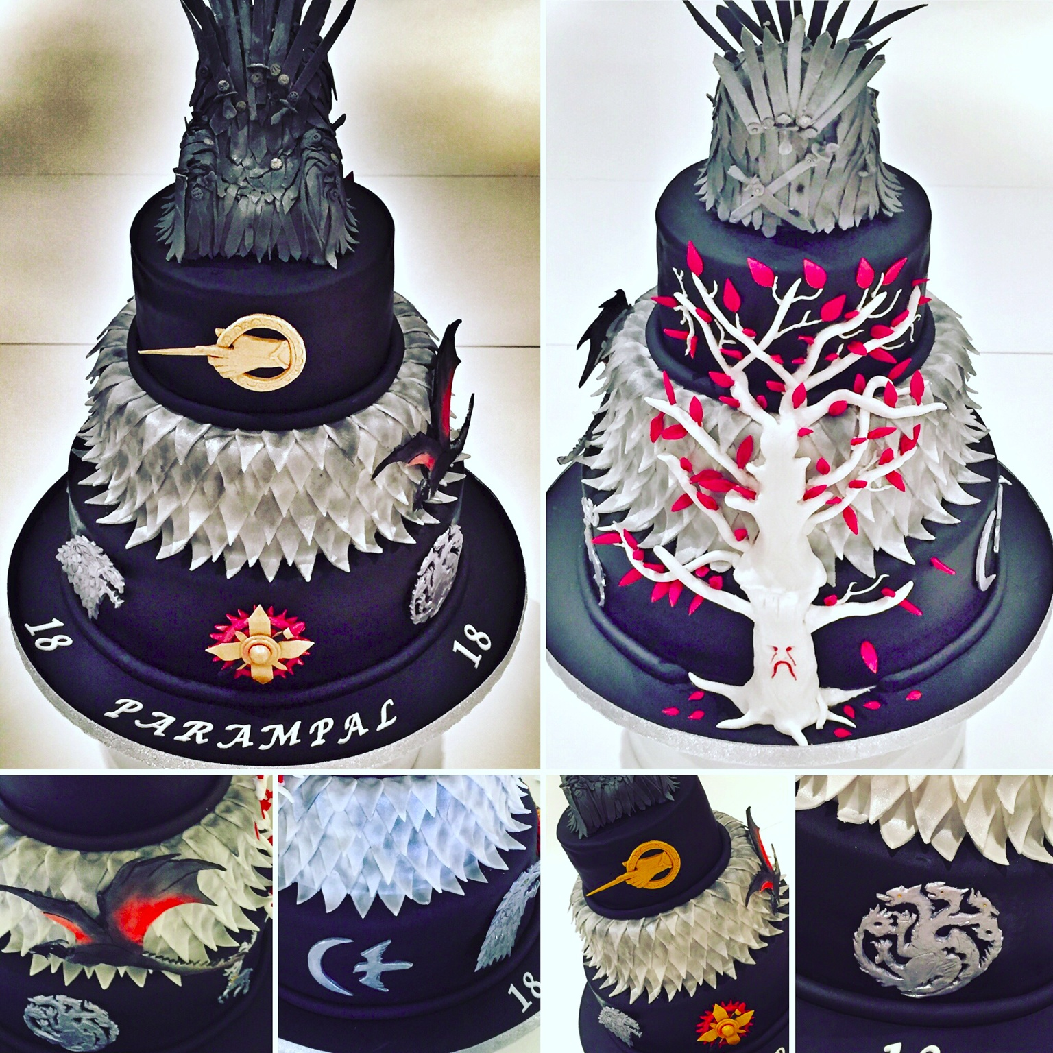Wondrous Game Of Thrones Cakes Cakeflix Personalised Birthday Cards Cominlily Jamesorg