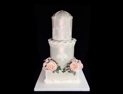 wedding cake cake of the month april 2019