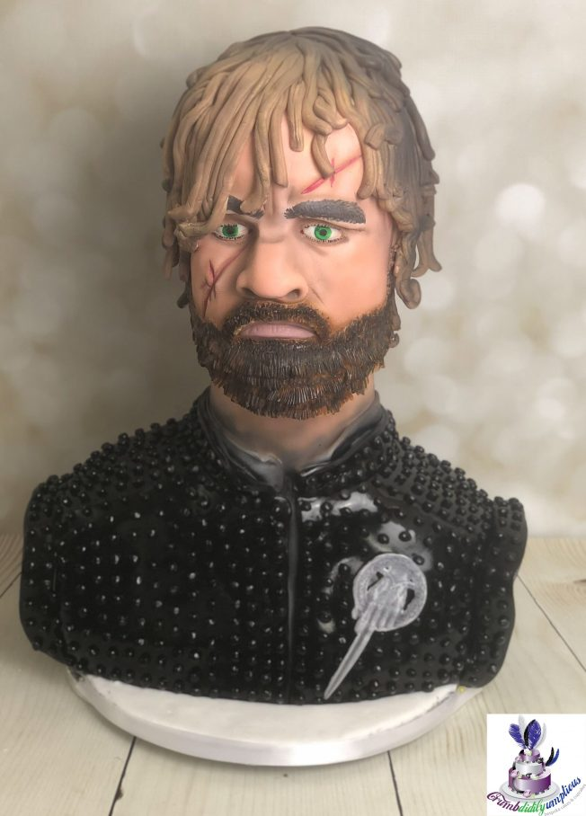tyron lannister cake - game of throne cake