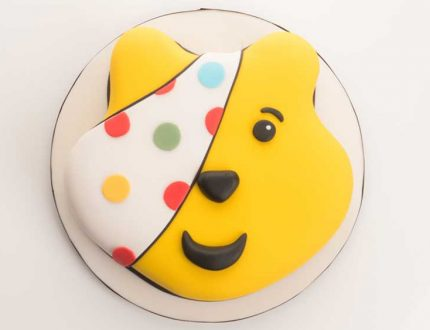 pudsey bear cake tutorial