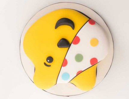 learn how to make a pudsey bear cake