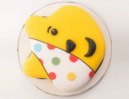 pudsey bear cake tutorial for cake international 2019