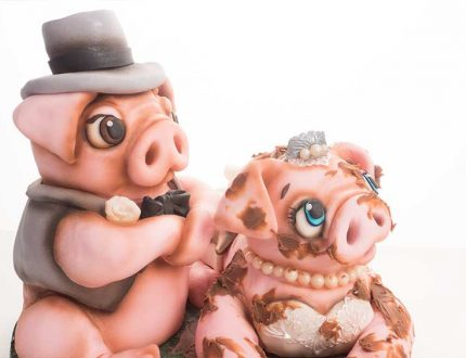 channel 4 extreme cake makers tutorial wedding pig cake tutorial with Molly Robbins