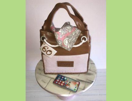 handbag cake - cake of the month
