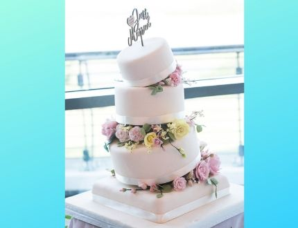 wedding cake - cake of the month