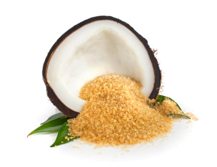coconut sugar - alternatives to sugar in cakes