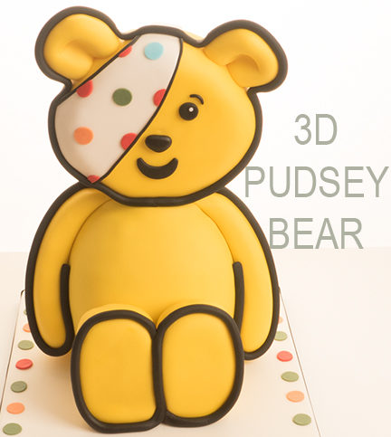 3D Pudsey Bear – Bitesized