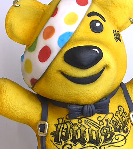 Pudsey the Punk – Bite Sized