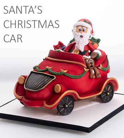 Santa's Christmas Car – Bite Sized
