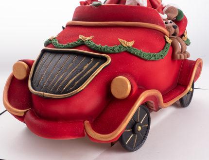 Santa's Christmas car