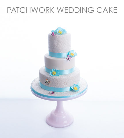 Patchwork Wedding Cake