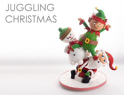 Juggling Christmas