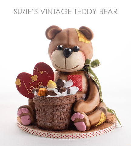 Suzie's Vintage Teddy – Bite sized