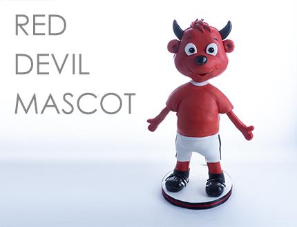 Red Devil Mascot