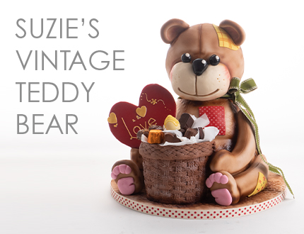 Suzie's Vintage Teddy Bear
