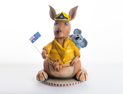 kangaroo fire fighter