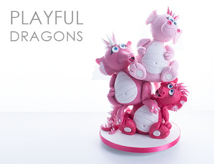 Playful Dragons