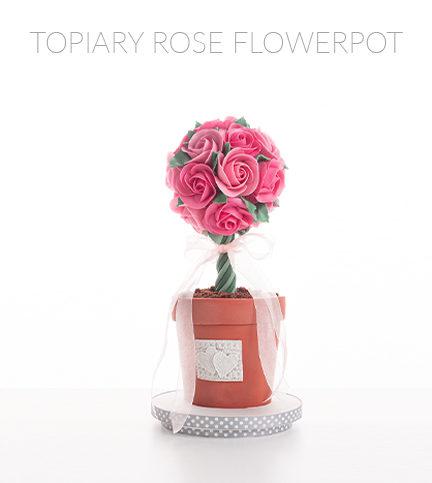 Topiary Rose Flowerpot – Bite Sized