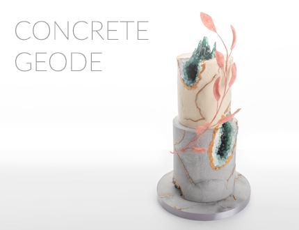 Concrete Geode