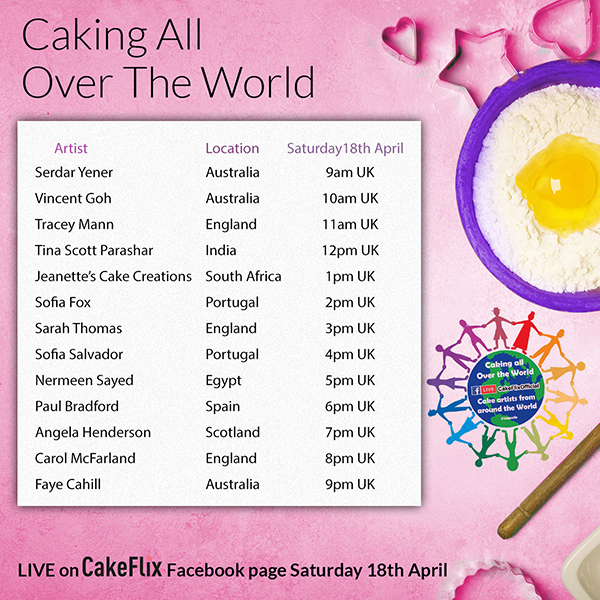 Caking all over the world