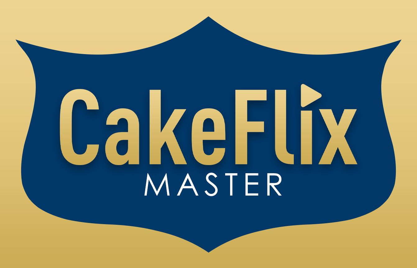 CakeFlix Masters logo