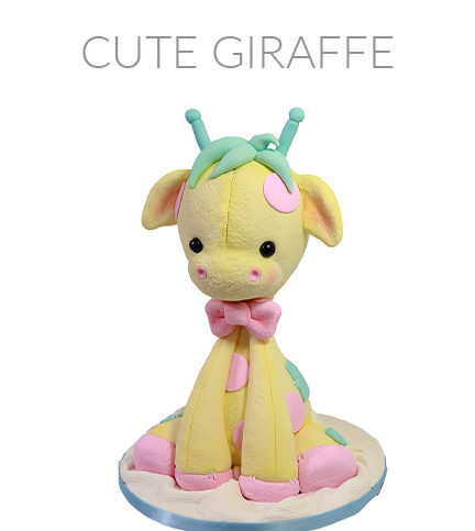 Cute Giraffe – Bite Sized