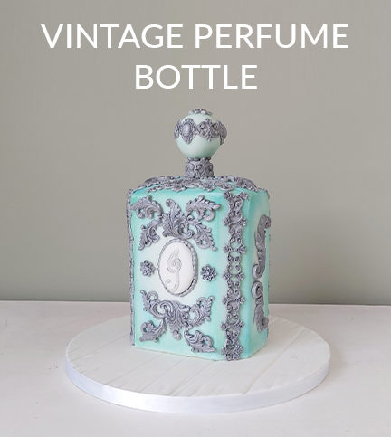 Vintage Perfume Bottle – Bite Sized