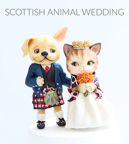 Scottish Animal Wedding – Bite Sized