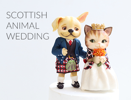 Scottish Animal Wedding