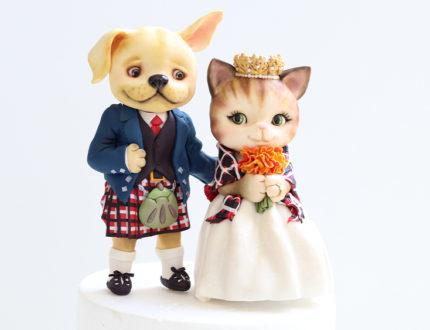 scottish animal wedding