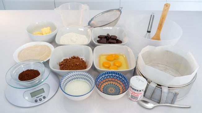 Cake Baking Tools & Ingredients