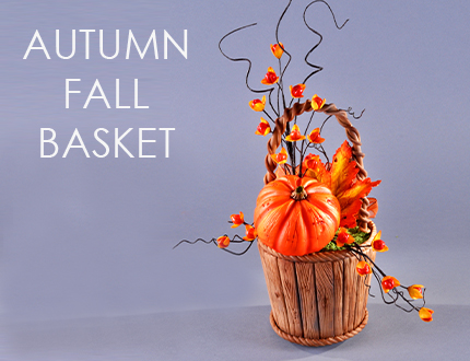 Autumn Fall Basket