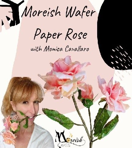 Moreish Wafer Paper Rose – Bite Sized