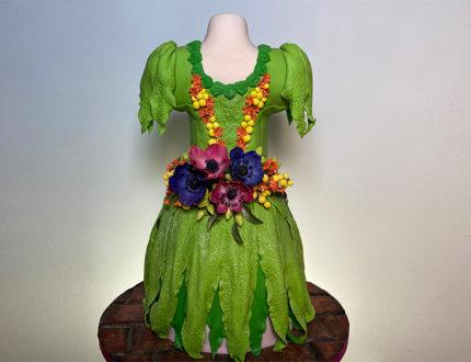 Flower nymph dress full cake