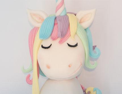 unicorn head close up