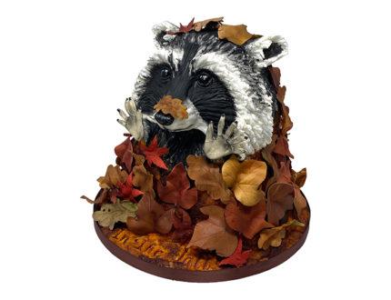 Rodney the raccoon side full