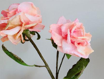 moreish wafer paper flower close up 4