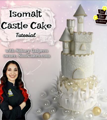Isomalt Castle – Bite Sized