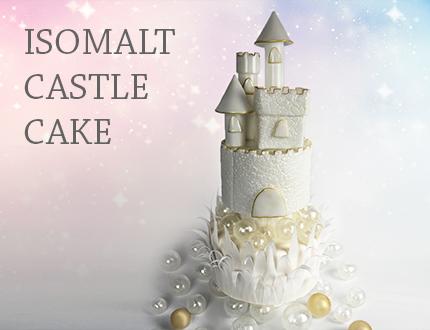 Isomalt Castle Cake