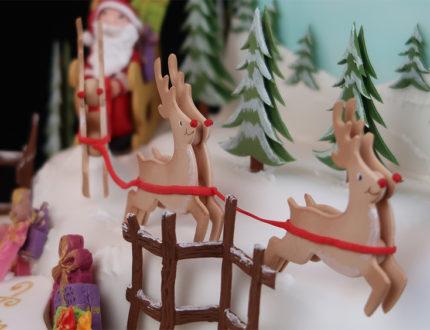 santas sleigh ride close up 2