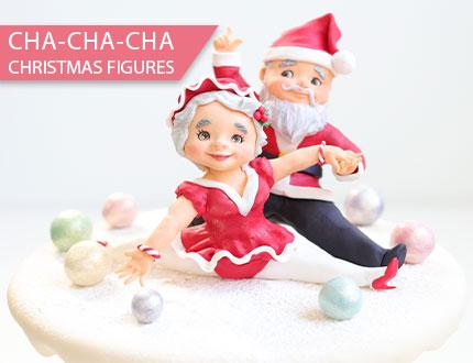 Cha-Cha-Cha Christmas Figures