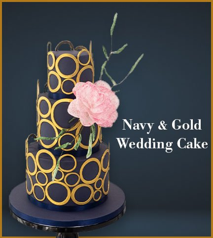 Navy & Gold Wedding