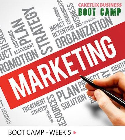 Week 5 – Marketing